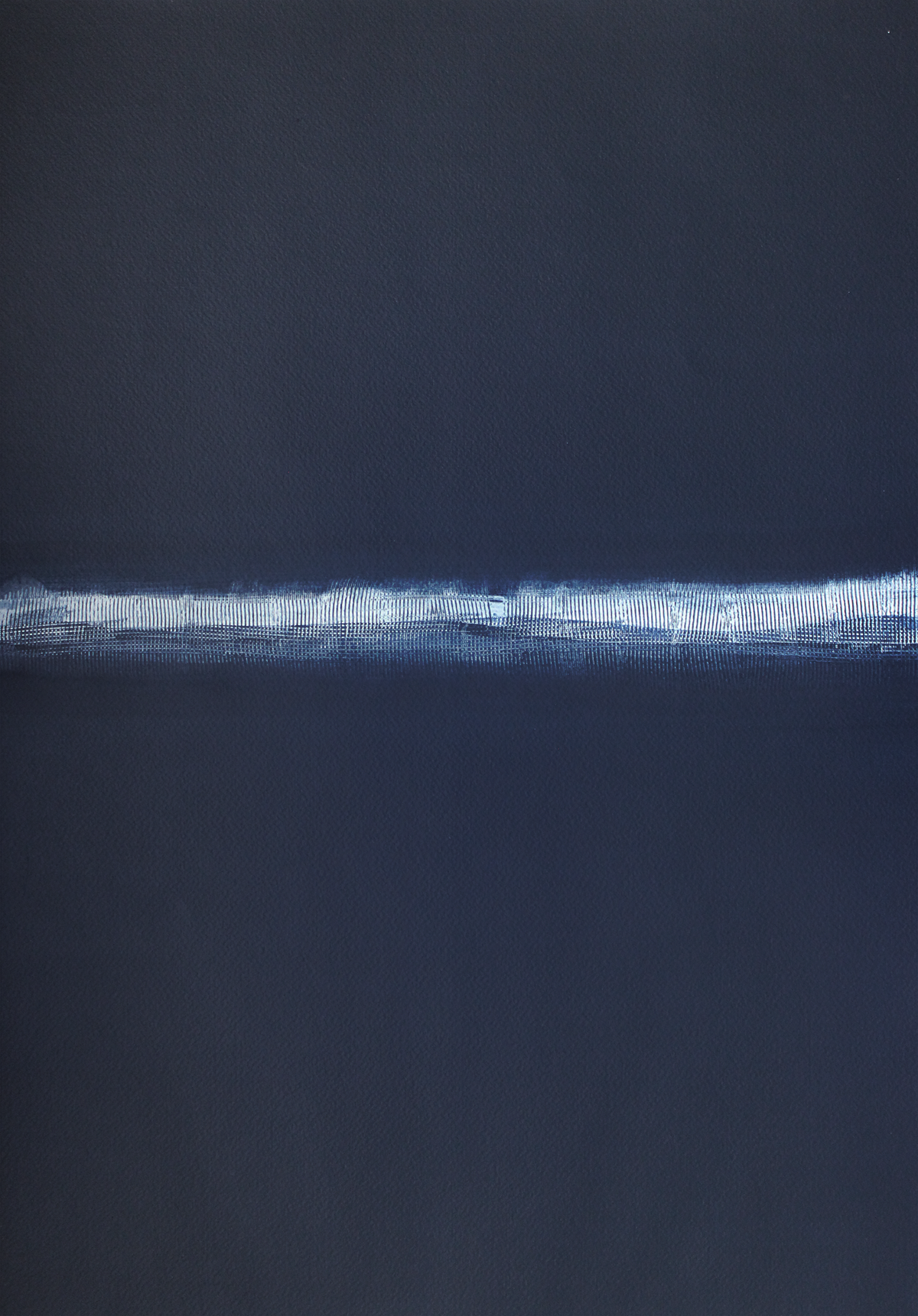Blue Notes - Abstract Painting by the Artist John Lally