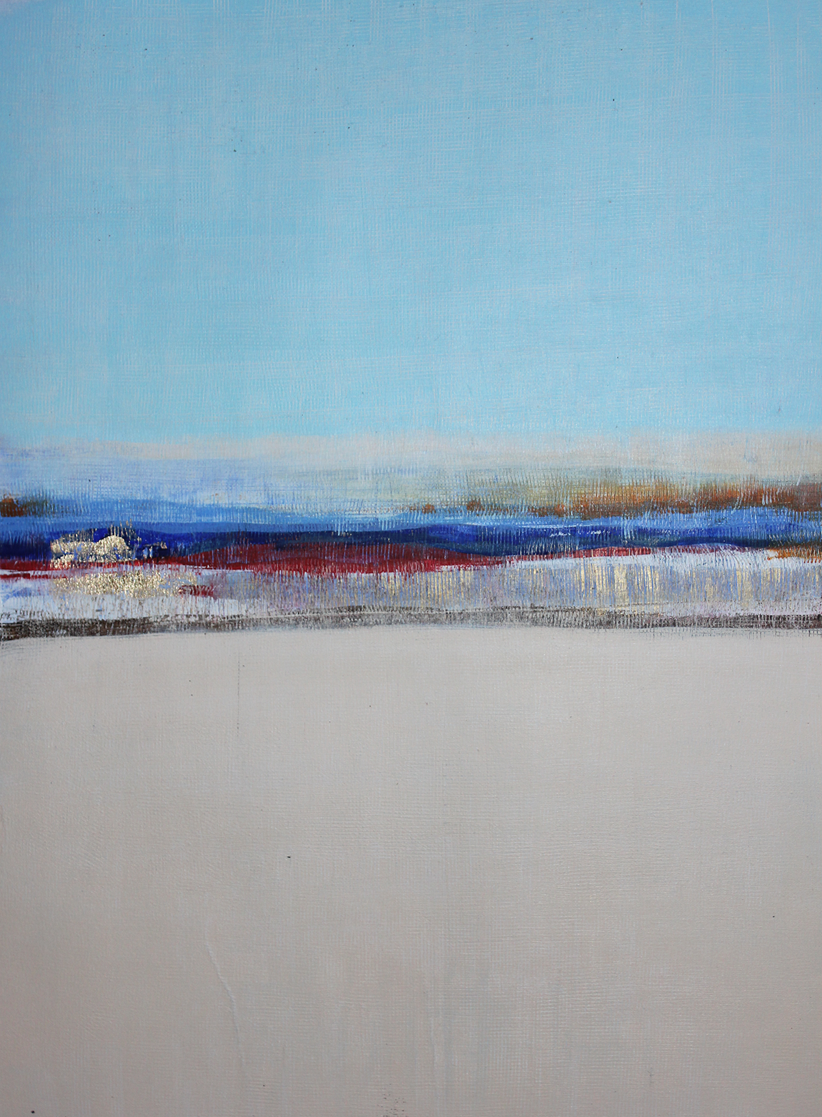 Taba to Cairo - Abstract Painting by John Lally